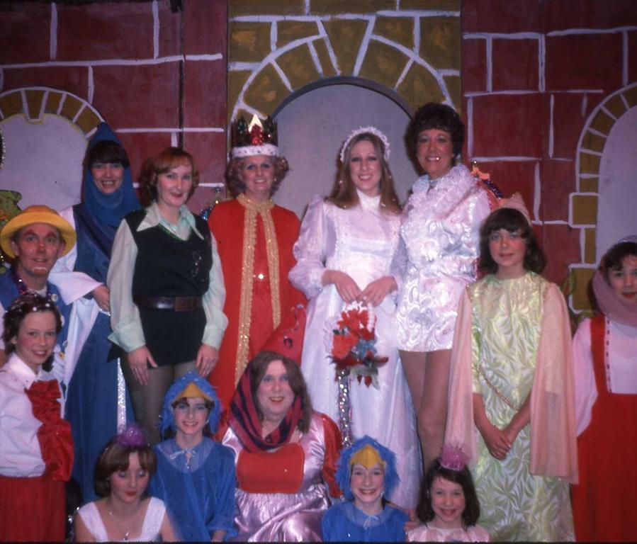 Sleeping Beauty 1977 cast - East Kilbride Rep Theatre Club